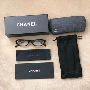 Chanel Blue Denim  eyeglass frame